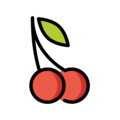 Cherries on OpenMoji 12.0
