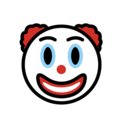 Clown Face on OpenMoji 12.0