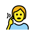 Deaf Person on OpenMoji 12.0