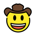 Cowboy Hat Face on OpenMoji 12.0