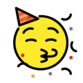 Partying Face on OpenMoji 12.0