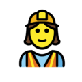Woman Construction Worker on OpenMoji 12.0
