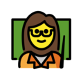 Woman Teacher on OpenMoji 12.0