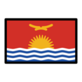 Flag: Kiribati on OpenMoji 12.0