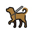 Guide Dog on OpenMoji 12.0