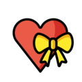 Heart With Ribbon on OpenMoji 12.0