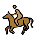 Horse Racing: Medium Skin Tone on OpenMoji 12.0