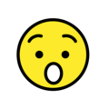 Hushed Face on OpenMoji 12.0