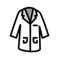 Lab Coat on OpenMoji 12.0