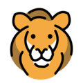 Lion Face on OpenMoji 12.0