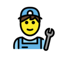 Man Mechanic on OpenMoji 2.0