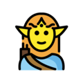 Man Elf on OpenMoji 12.0