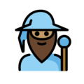 Man Mage: Medium Skin Tone on OpenMoji 12.0