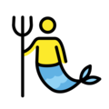 Merman on OpenMoji 12.0