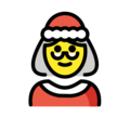 Mrs. Claus on OpenMoji 12.0