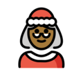 Mrs. Claus: Medium-Dark Skin Tone on OpenMoji 12.0