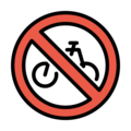 No Bicycles on OpenMoji 12.0