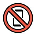 No Mobile Phones on OpenMoji 12.0