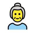Old Woman on OpenMoji 12.0