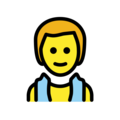 Person in Steamy Room on OpenMoji 12.0