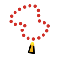 Prayer Beads on OpenMoji 12.0
