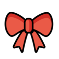 Ribbon on OpenMoji 12.0