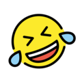 Rolling on the Floor Laughing on OpenMoji 12.0