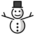 Snowman Without Snow on OpenMoji 12.0