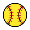 Softball on OpenMoji 2.0