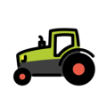 Tractor on OpenMoji 12.0