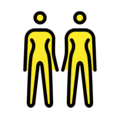 Women Holding Hands on OpenMoji 12.0