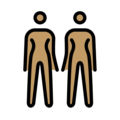 Women Holding Hands: Medium Skin Tone on OpenMoji 2.0