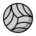 Volleyball on OpenMoji 12.0