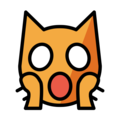 Weary Cat Face on OpenMoji 12.0