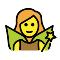 Woman Fairy on OpenMoji 12.0