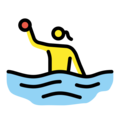 Woman Playing Water Polo on OpenMoji 12.0