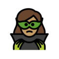 Woman Supervillain: Medium Skin Tone on OpenMoji 12.0