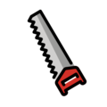 Carpentry Saw on OpenMoji 12.3