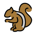 Chipmunk on OpenMoji 12.3