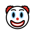 Clown Face on OpenMoji 12.3