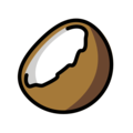 Coconut on OpenMoji 12.3