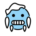 Cold Face on OpenMoji 12.3