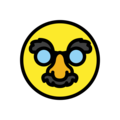 Disguised Face on OpenMoji 12.3