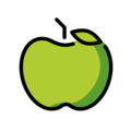 Green Apple on OpenMoji 12.3