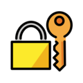 Locked with Key on OpenMoji 12.3