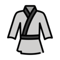Martial Arts Uniform on OpenMoji 12.3