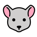 Mouse Face on OpenMoji 12.3