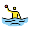 Person Playing Water Polo on OpenMoji 12.3