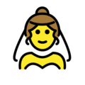 Person With Veil on OpenMoji 12.3