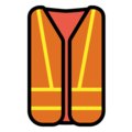 Safety Vest on OpenMoji 12.3